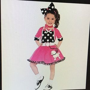 Other - 50's Poodle Toddler Girl Costume, fits size 2T